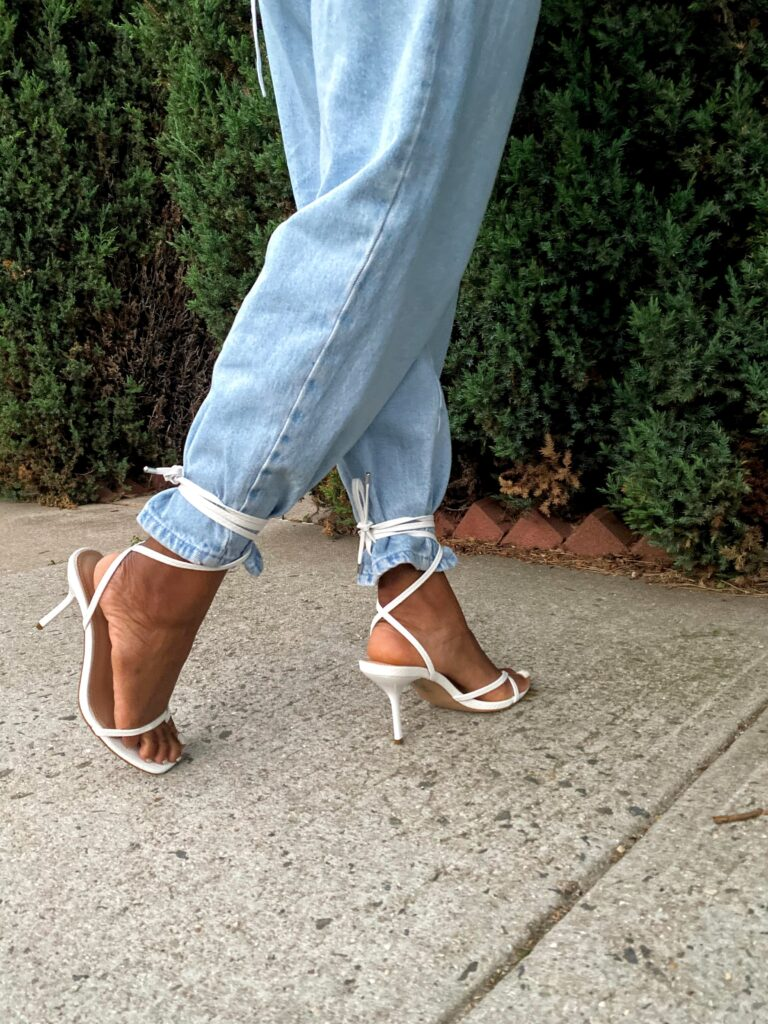 Tied Up Heels- Fashion Trends and Street Style